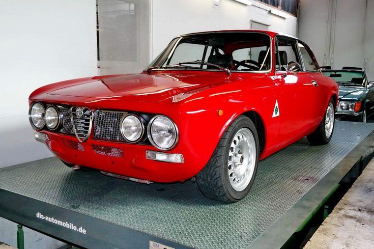 #AlfaRomeo GT 1600 Sprint #Alfa #italiandesign