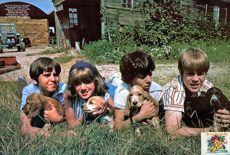 With puppies from Five go off to Camp
