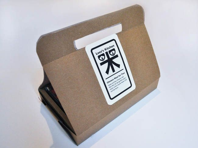 Packaging of the World: Creative Package Design Archive and Gallery: Chinese Meal for Two (Concept)