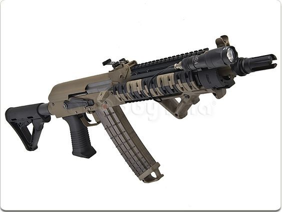 Beta Project Tactical AK AEG (w/ AFG, if possible) -- $200+