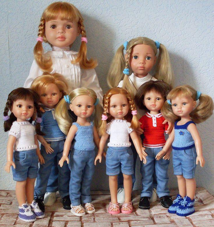 Одежда для кукол и мои маленькие достижения / Одежда и обувь для кукол своими руками / Бэйбики. Куклы фото. Одежда для кукол