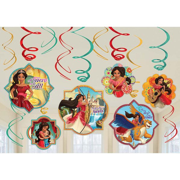 Check out Elena of Avalor Swirl Decorating Kit   Elena of Avalor Party Supplies from Birthday in a Box from Birthday In A Box