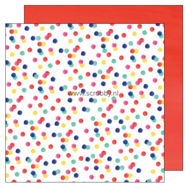 American Crafts Amy Tangerine Better Together double sided cardstock Ladies & Gentlemen
