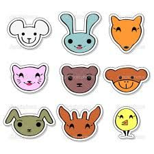 Google Image Result for http://st.depositphotos.com/1477822/1372/v/950/depositphotos_13722694-Cute-animal-faces-set.jpg