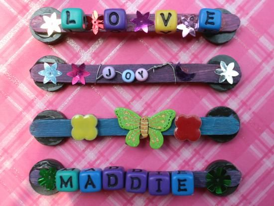 Cool project from http://www.kiwicrate.com/projects/Craft-Stick-Magnets/2052: Craft Stick Magnets