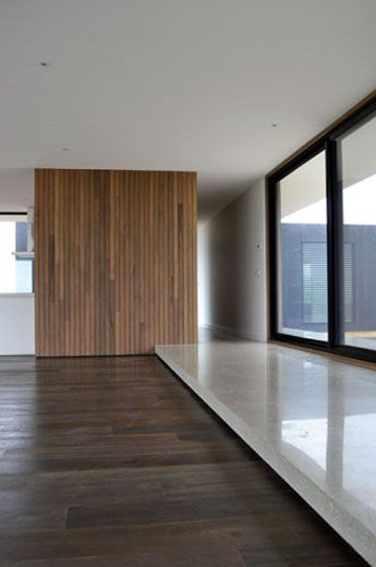 Modscape have used Mink Grey timber flooring by Royal Oak Floors in their Deans Marsh project