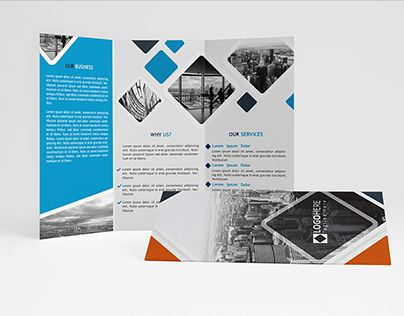 """Check out new work on my @Behance portfolio: """"Multipurpose Trifold Brochure"""" http://on.be.net/1Gw68bW"""