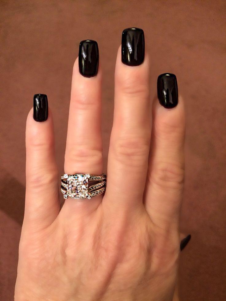 Black Cherry OPI nail polish