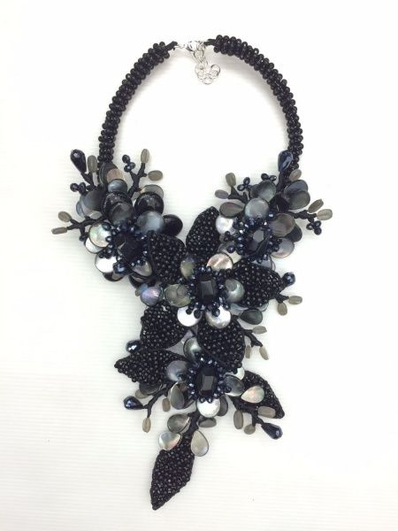 Cheap statement necklace, Buy Quality choker necklace directly from China necklace women Suppliers: Maxi Necklace Limited Chokers Necklaces Women Collier Collares 2017 New Arrival Handmade Onyx Shell Flower Statement Necklace