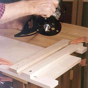 Make a dado jig for router woodworking projects plans keyboard keysfo Gallery