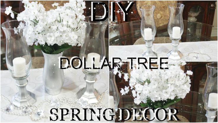 Diy Wedding Decorations Dollar Tree : Tree centerpieces on dollar store centerpiece diy wedding