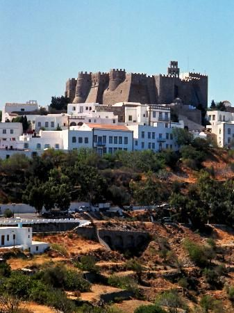 Monastery of St. John the Apostle on the Island of Patmos, Greece
