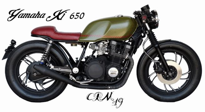 yamaha xj 650 by cafe racer madrid xj650 yamaha cafe. Black Bedroom Furniture Sets. Home Design Ideas