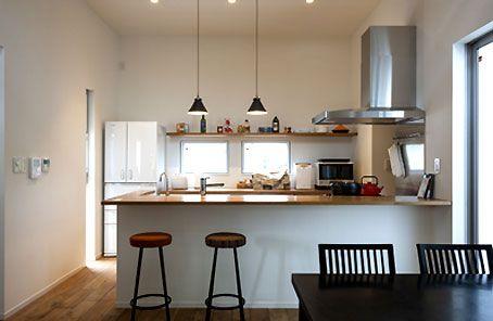 システムキッチンでは不可能なスタイル.. オーダーキッチンキッチンだからこそできること。 http://www.stadion.co.jp/