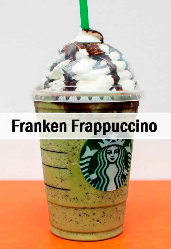 How to order: •Green Tea Frappuccino with •Add peppermint syrup •Add white chocolate sauce •Add java chips •Top whipped cream and mocha drizzle