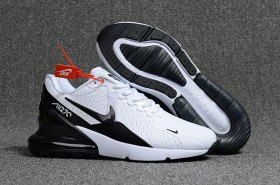 newest b6fd1 8450d Latest Style Nike Air Max Flair 270 KPU White Black Men s Running Shoes  Sneakers