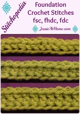 532 best crochet patterns to try someday images on pinterest foundation crochet stitches are a great alternative to starting your work with chains and then working fandeluxe Images