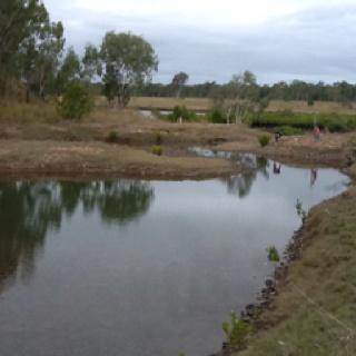 Boyne River near Gladstone Qld Australia, beautiful grazing land held by same family for 4 generations