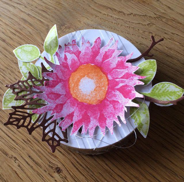 Nanuk's Welt: Farbige Sonnenblumen...