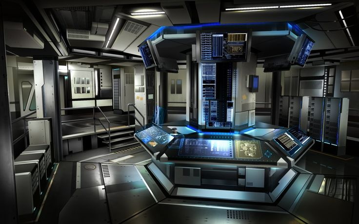 1000 images about si fi futuristic on pinterest for Futuristic control room