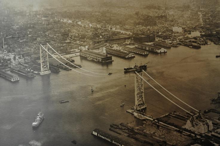 The construction of the Benjamin Franklin Bridge over the Delaware River between Philadelphia and Camden: Historic Urbanism, Benjamin Franklin, Philadelphia Board