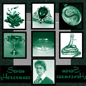Harry Potter party: The Seven Horcruxes--we'll hunt for them in the Forbidden Forest!