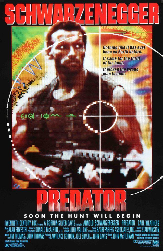 Predator (1987) Original One Sheet Movie Poster