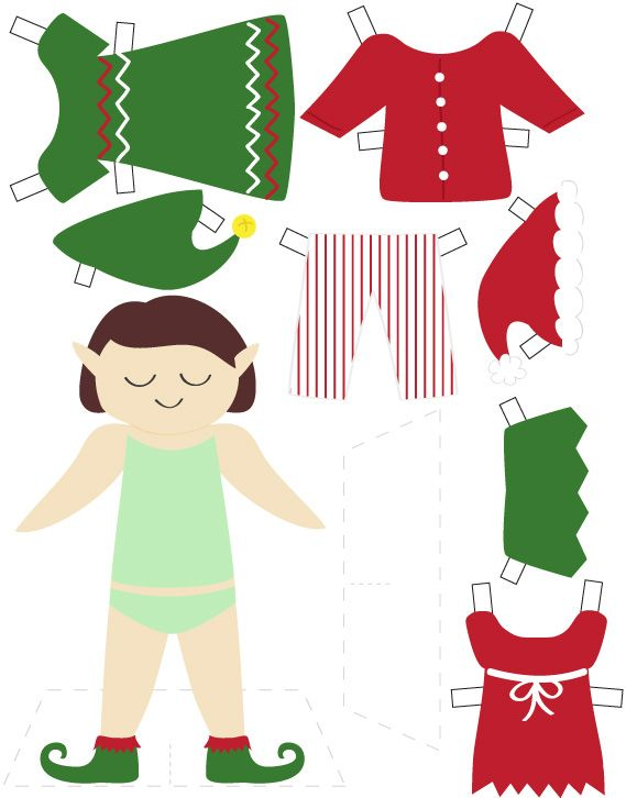 This is a photo of Dashing Elf Yourself Printable