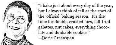 Oh Dorie, we think the same!