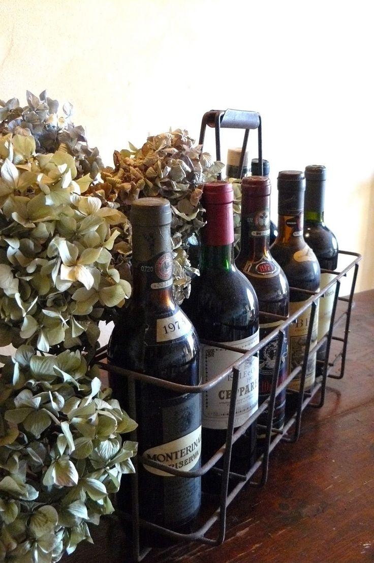Wonderful Wine Basket
