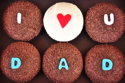 Father's Day #cupcakes by #Ghermez