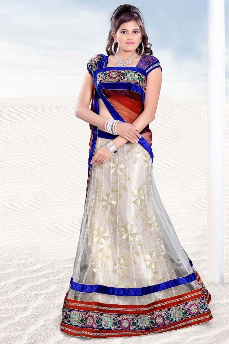 Buy Off White Net Designer Lehenga Online in low price at Variation. Huge collection of Designer Lehenga, Wedding Lehenga, Lehenga Choli, Ghaghra Choli, Bollywood Lehenga and Bridal Lehenga online for women at Variation. #designer #designerlehenga #lehenga #onlineshopping #latest #lowprice #variation  #weddinglehenga #lehengacholi #bollywoodlehenga #bridallehenga. To see more - https://www.variation.in/collections/lehenga