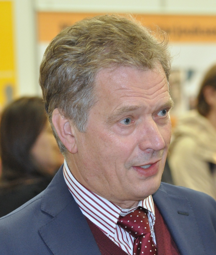 12. Sauli Niinistö 24.8.1948 Salo, 2011. Elected as the twelth president in 2012. National Coalition Party (KOK).