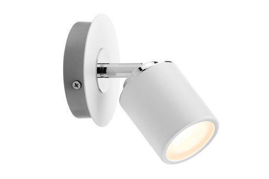 Spotlight Tube IP44 Balken 1x3,5W GU10 wit/chroom 230V metaal 60344