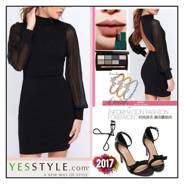 """""""YesStyle - 10% off coupon"""" by sirena39 ❤ liked on Polyvore featuring Zundiao, Bobbi Brown Cosmetics, Winter and yesstyle"""
