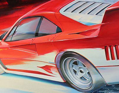 "Check out new work on my @Behance portfolio: ""Artwork Ferrari F 40"" http://be.net/gallery/45790105/Artwork-Ferrari-F-40"