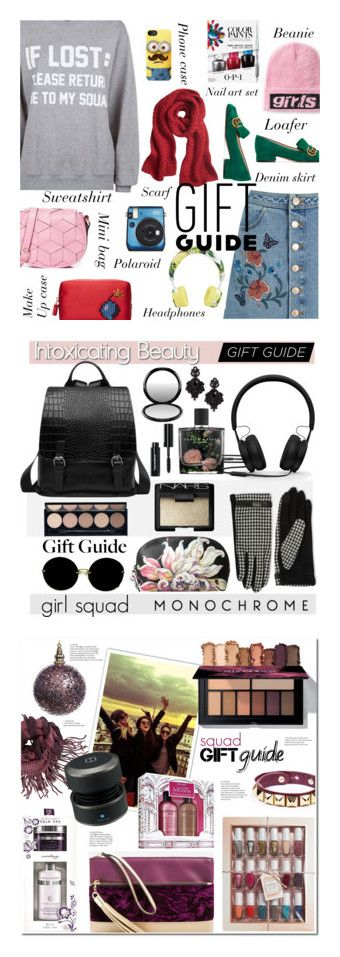"""Winners for Holiday Gift Guide: Your Squad"" by polyvore ❤ liked on Polyvore featuring Alexander Wang, Anya Hindmarch, Fujifilm, Private Party, Gucci, OPI, Welden, Banana Republic, Miss Selfridge and Dolce&Gabbana"