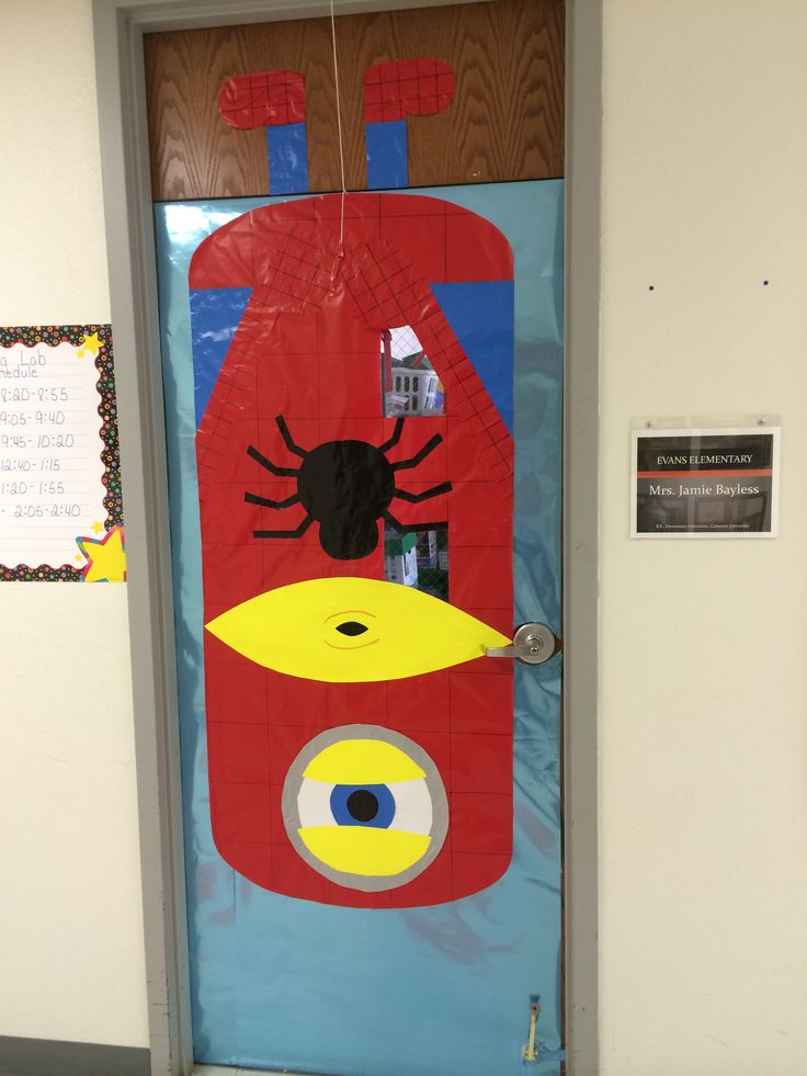 Superhero Classroom Decoration Ideas ~ Best ideas about minion door on pinterest