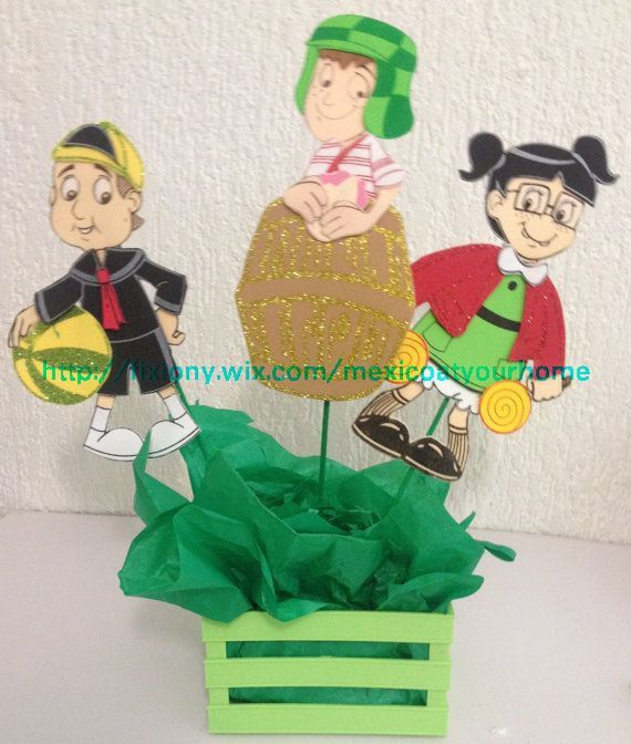 Hey, I found this really awesome Etsy listing at https://www.etsy.com/listing/197439201/el-chavo-del-8-birthday-center-piece