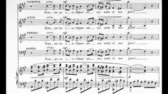 Barber - Agnus dei (with sheet music) - YouTube