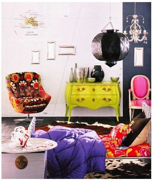 25 beste idee n over kleurrijk interieur op pinterest vintage interieurontwerp schoonheid - Eetkamer roche bobois ...