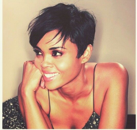 Sharon Leal with short hair. Just beautiful