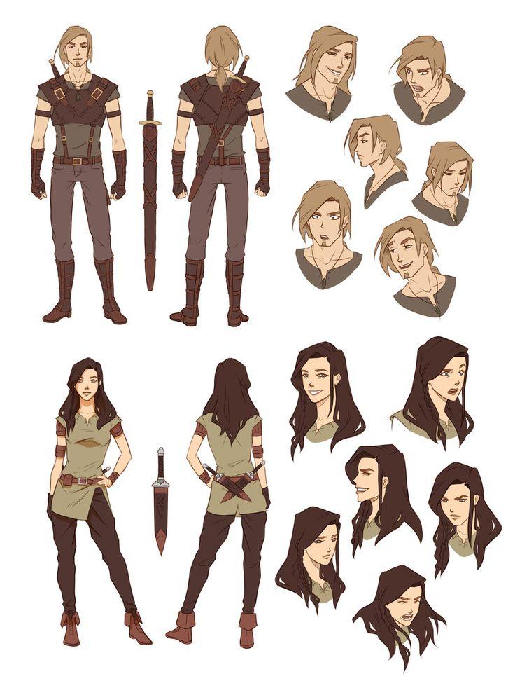 Character Design For Beginners : Cartoon character design for beginners ankaperla