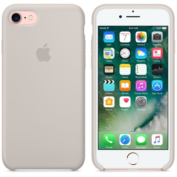 The iPhone 7 Silicone Case protects your iPhone and fits snugly over the curves, without adding bulk. Buy now with fast, free shipping.
