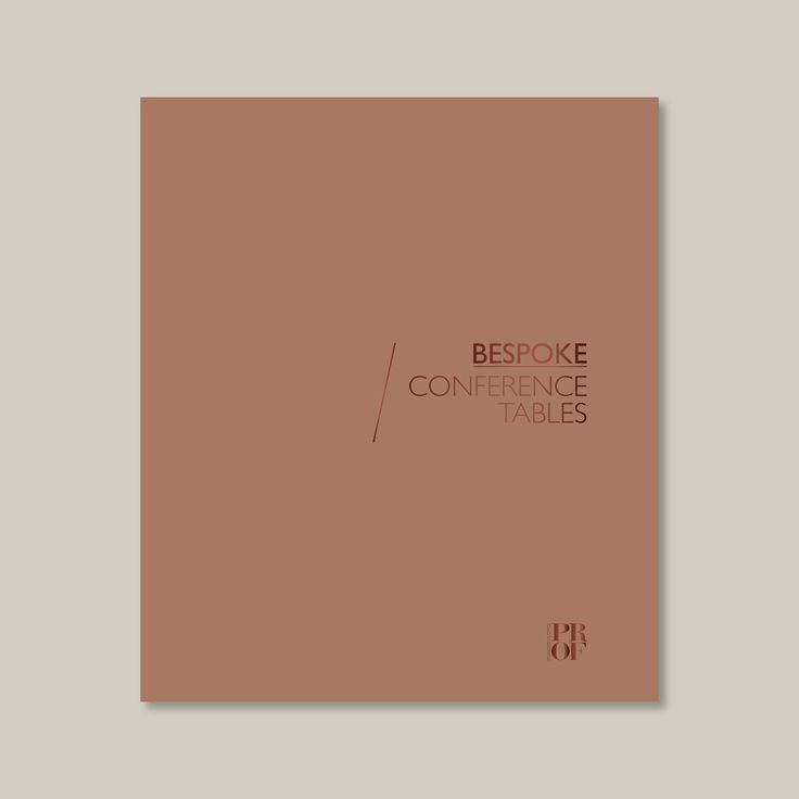 New catalogue! Bespoke conferenece tables / AD RMDESIGNSTUDIO