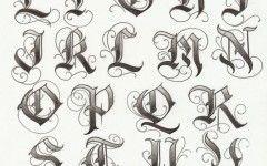 Tattoo Fonts Cool Stuff