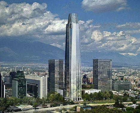 "Costanera Center - Chile's ""greenest"" building"