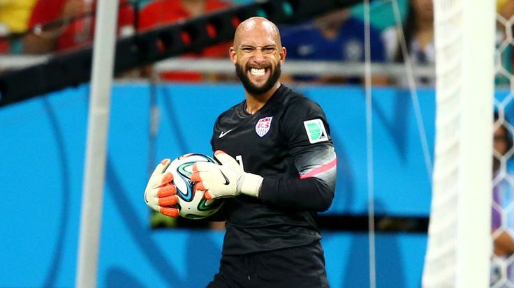 Tim Howard is actually a really good goalie, USA would have died in the World Cup if it wasn't for him.
