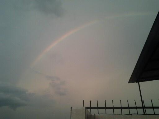 An Indonesian rainbow