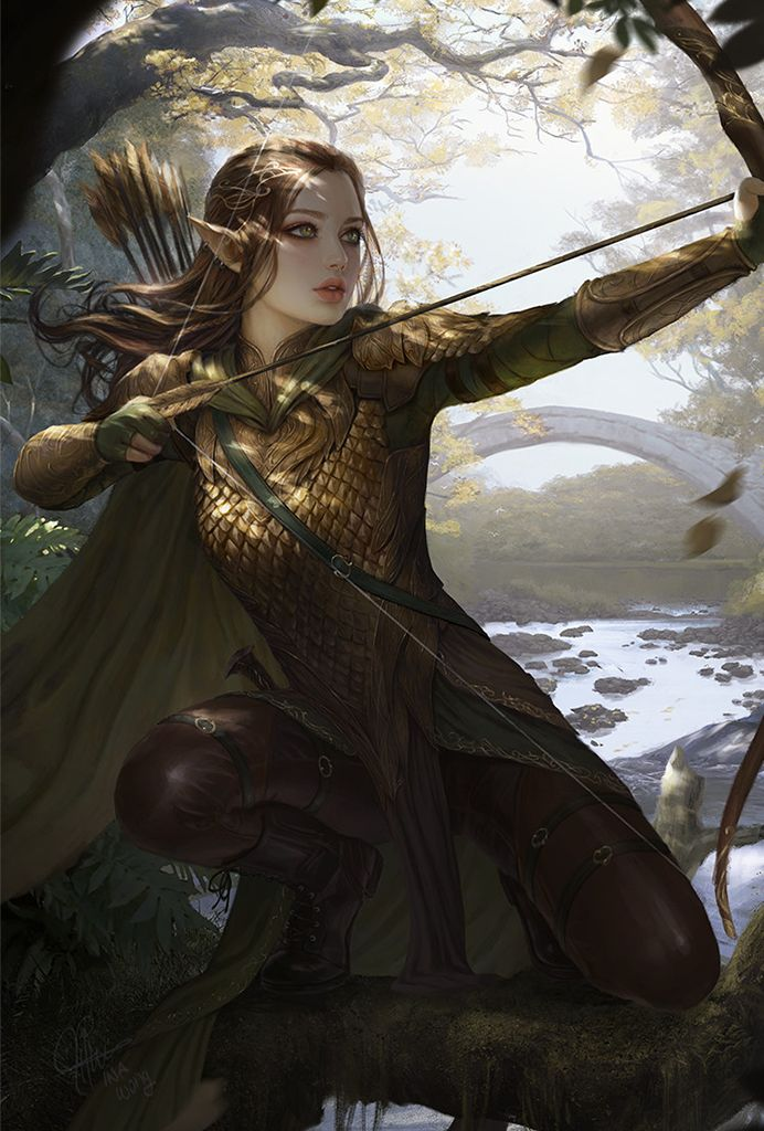 Pathfinder Kingmaker Portraits In 2020 Fantasy Art